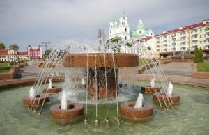 Площадь Советская город Гродно